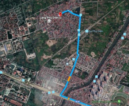Cần bán nhanh đất mặt đường Nguyễn Đổng Chi 154 m2 - liên hệ: 0983.395.388