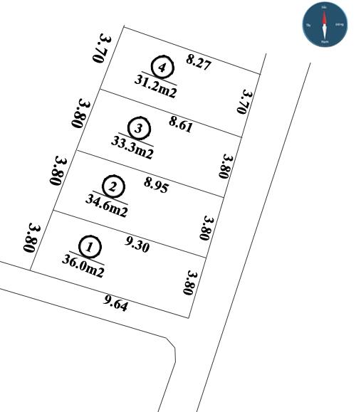 Bán đất phân lô tại ngõ 199 phường Liên Mạc, quận Bắc Từ Liêm giá chỉ từ 650 triệu/lô [ĐÃ BÁN]