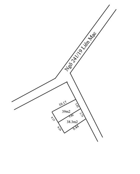 Bán 2 lô đất ngõ 241 đường Liên Mạc, Bắc Từ Liêm [ĐÃ BÁN]