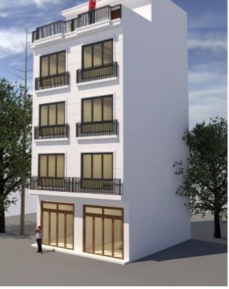 Cần bán nhanh nhà 4,5 tầng mới gần hồ Phú Diễn diện tích 60m2 [ĐÃ BÁN]