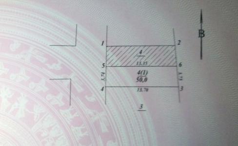 Bán nhanh đất Thụy Phương ngõ 201, diện tích 50m2 ô tô vào nhà