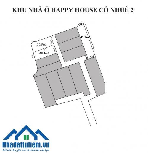 Bán nhà đất tại ngõ 347 Cổ Nhuế 2 diện tích 30-41m2 giá tốt