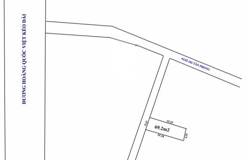Cần bán nhanh đất tại Thụy Phương, gần hồ câu Tân Phong, diện tích 69.2m2 giá đầu tư  [ĐÃ BÁN]
