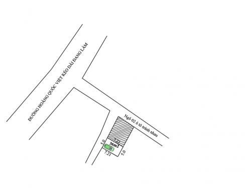 Bán đất Tân Phong - Thụy Phương diện tích 36m2 ô tô vào nhà gần ngay Hoàng Quốc Việt Kéo dài [ĐÃ BÁN]